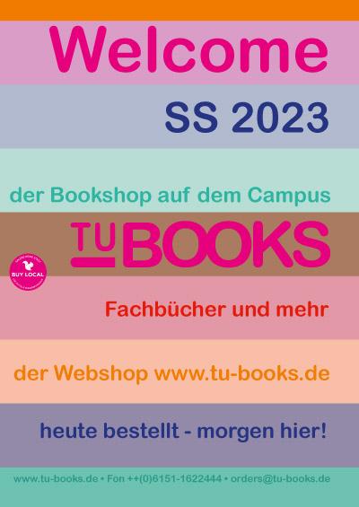 TU-BOOKS Buchhandlung auf dem Campus der TU Darmstadt